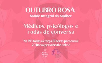 Mulheres – Outubro rosa